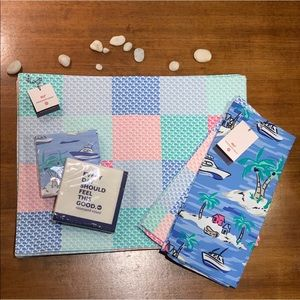 🐳Vineyard Vines For Target Whale Placemat Set
